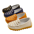 2016 New Children Shoes Gommino Loafers Oxford Flat Shoes Boy Girl Fashion Sneakers Baby First Walkers (Toddler/ Little Kids)
