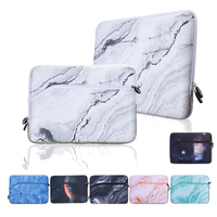 13 Neoprene Marble Pattern Laptop Sleeve Bag For Apple Macbook Air Pro 13 Waterproof Liner Bag