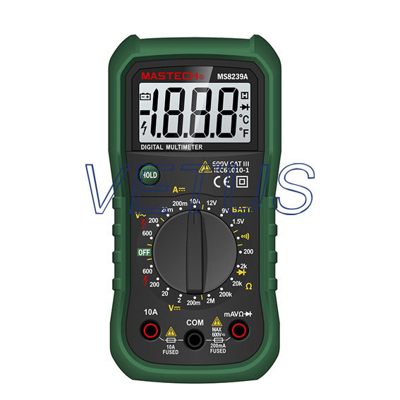 MS8239A Diode test and continuity test multimeter price