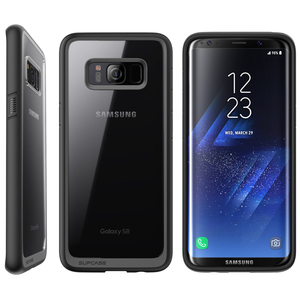 Image 3 - SUPCASE Samsung Galaxy S8 kılıfı UB stil Premium hibrid koruyucu İnce temizle kılıf TPU tampon + PC arka kapak için S8 kılıfı