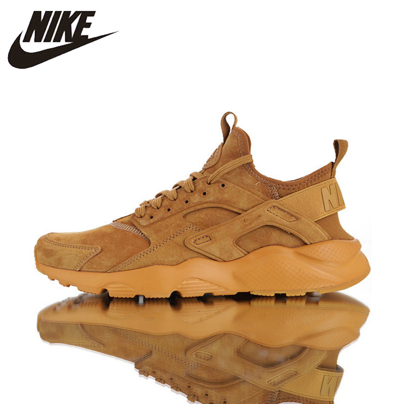 Nike Air Huarache Ultra Suede ID Flax Men Original Running Shoes ,Men Breathable High Quality Shoes 829669-700