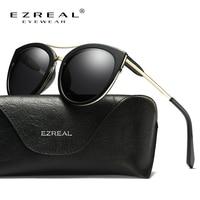 EZREAL Women Sunglasses Oval Fashion Female Men Retro Reflective Mirror Sunglasses Color Famous Brand Designer Oculos