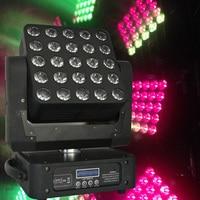 5x5 Led Matrix Moving Head Light RGBW 25*12W DMX Stage Light