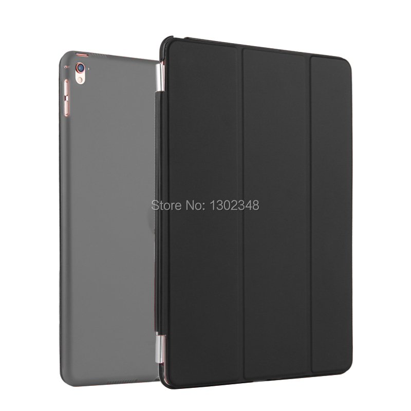 2 in 1 Ultra Slim Single Side Magnetic PU Leather Smart Sleep/Wake Cover + Back Case Stand Protector For Apple iPad Pro 9.7 inch
