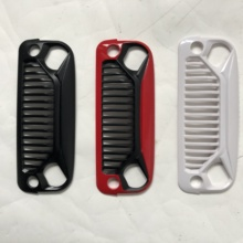 RC Car Air Inlet Grille Front Face Engine Hood for 1/10 RC Crawler Axial SCX10 90046 90047 Jeep Wrangler Rubicon Body She цена