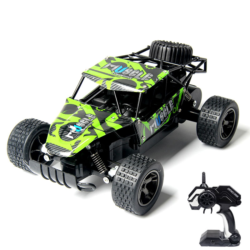 WLtoys RC Car 1:18 High Speed Metal And Plastic Long Control Distance Ready-To-Go Off Road Remote Control RC Buddy Toy For Boys