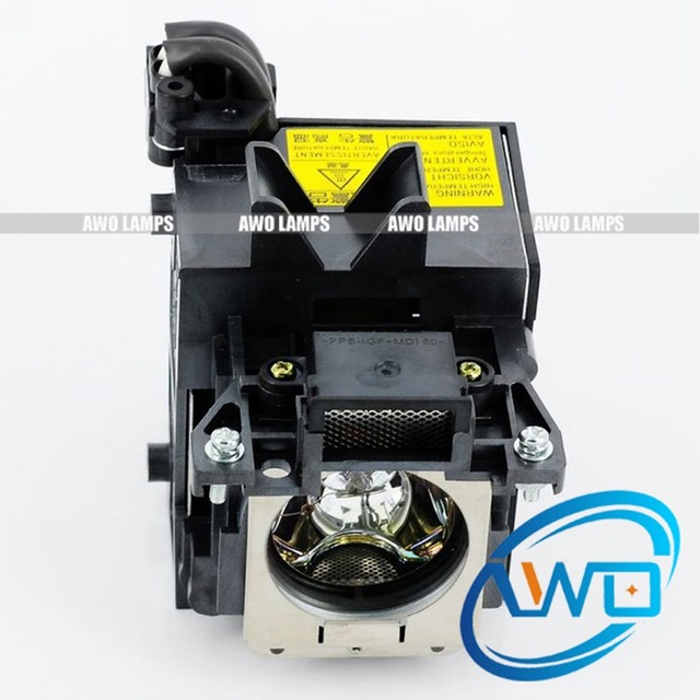 AWO Free SHipping Quality Projector Lamp LMP C200 Cheaper module for SONY  Projectors VPL CW125/CX100/CX120/CX125/CX130/CX131-in Projector Bulbs from