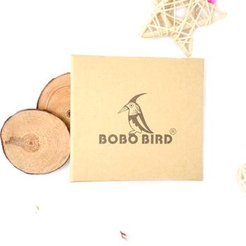Bobo Bird Fashion Style Wood Band Quartz Wooden Watches 5