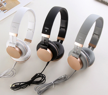 Cute Wired Headphones With MIC Over Ear Headset Stereo Bass Earphone HiFi Sound Headphone Music Auriculare For phone Grils Kids edifier h850 over ear hifi headphones professional audiophile headset lightweight wired music headphone for iphone ipod tablets
