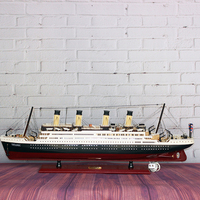 D Large Model Ship Titanic Ship Home Furnishing Modern Decoration Wedding Housewarming Gift