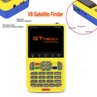 GTMEDIA/Freesat V8 Finder Satellite Finder DVB S2 Receiver Digital Signal Meter HD TV Antenna Outdoor Signal Detector Adjust Sat