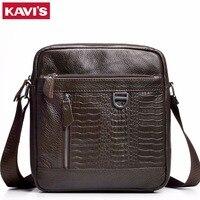 2017 Genuine Leather Messenger Bag Men Bags Hot Sale Male Small Man Fashion Business Crossbody Shoulder