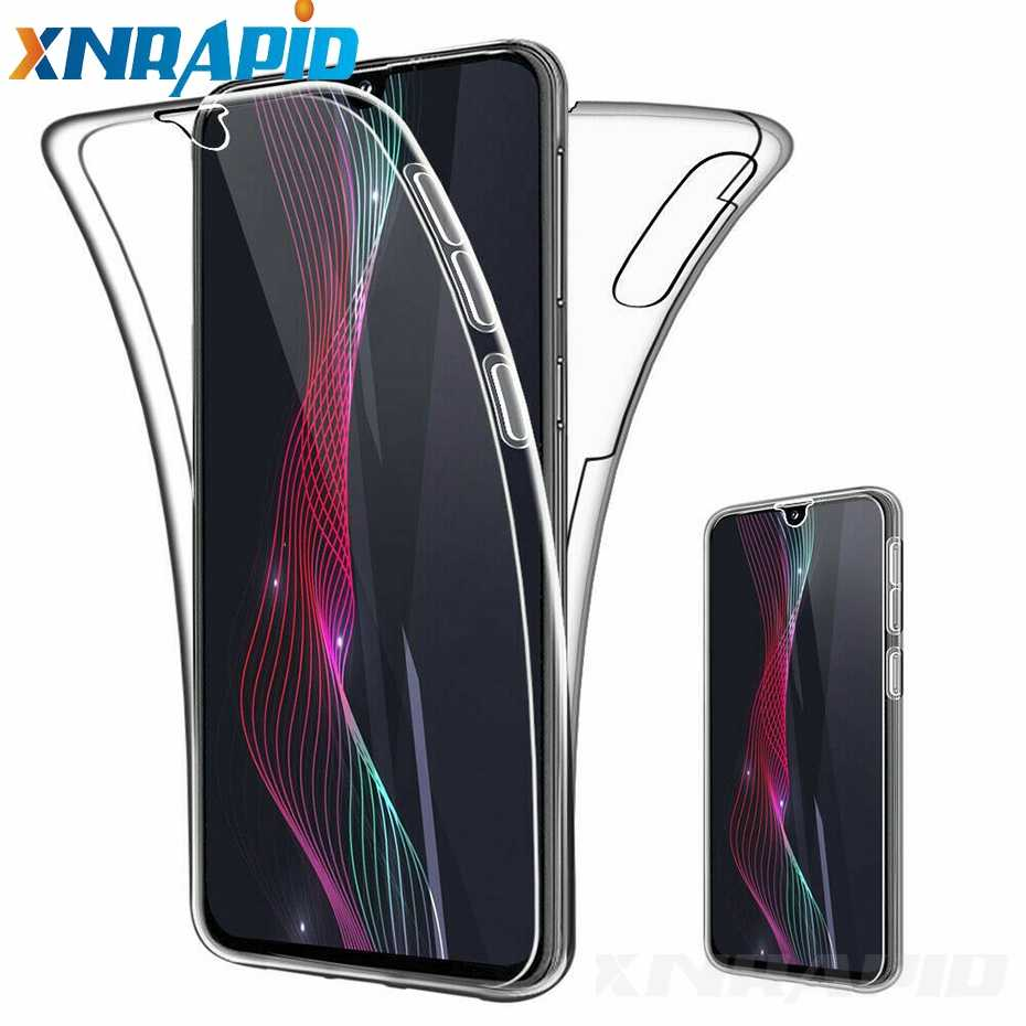360 高級 Xiaomi Redmi 注 7 Redmi 6A 7A 透明フル TPU PC Redmi k20 プロ電話ケース