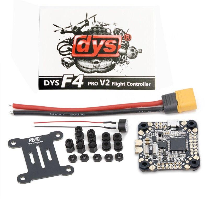 New DYS F4 PRO V2 Flight Control Betaflight Firmware 2-6S Lipo for All ESCs