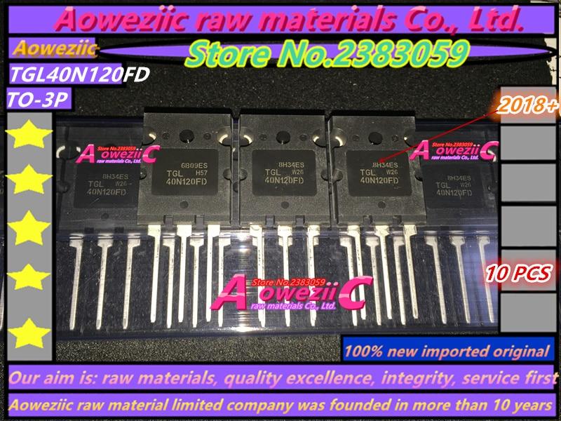 Aoweziic 2018 + 100% nieuwe geïmporteerde originele TGL40N120FD 40N120 OM 247 IGBT enkele buis 1200 V 40A voor elektrische lasmachine-in Vervangende onderdelen en toebehoren van Consumentenelektronica op  Groep 1