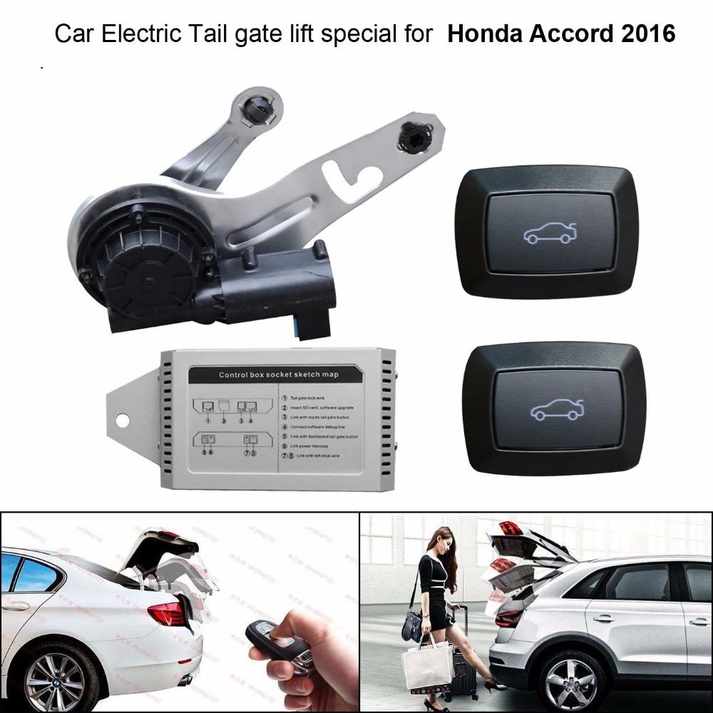 Автомобиль Электрический хвост ворота лифт специально для Honda Accord 2016 легко для вас контролировать багажник