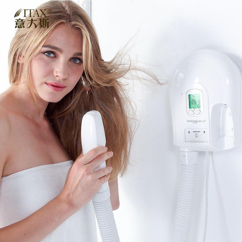 X-7723 offre spéciale hôtel sèche-cheveux salle de bains ménage souffleur de cheveux tenture murale sèche-peau
