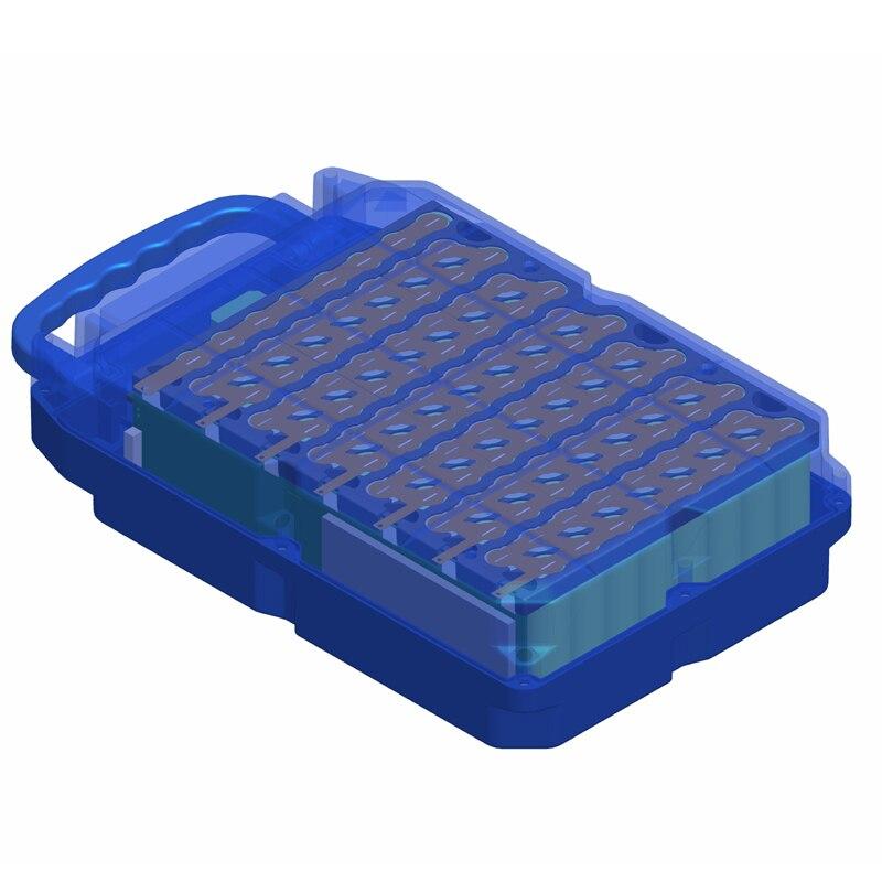 E-bike boîtier de batterie au Lithium pour 18650 batterie comprend un support et le nickel peut être placé 104 pièces cellules - 4