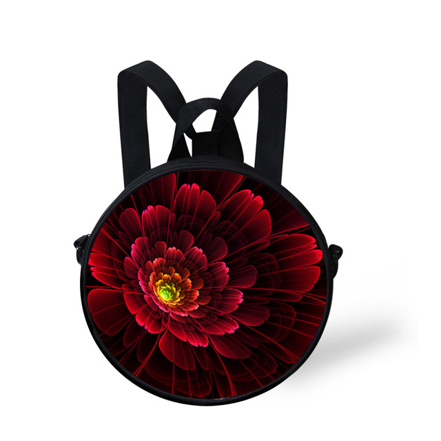 Mini Fashion Girls School Bags Red Velvet Flower Kids Children Schoolbag  Floral Kindergarten Casual Book Bag 81adff6cdb129