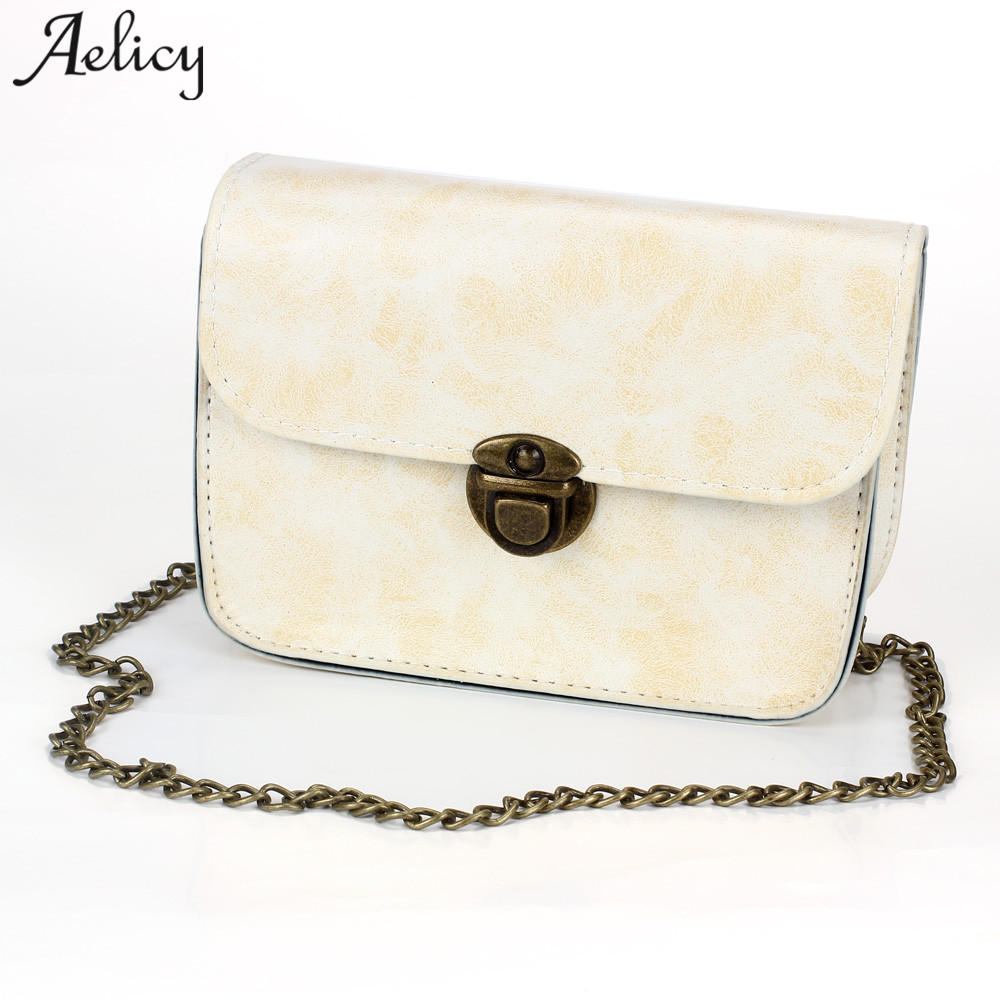 Aelicy 2018 High Quality Small Ladies Messenger Bags Leather Mini Shoulder Bags Women Crossbody Bag for Girl Brand Women Handbag