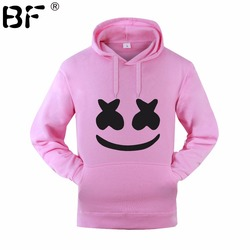 Marshmello Smiley Face Hoodies Men Hip Hop Fashion Streetwear Hoodie SweatshirtS M-3XL Hoodied Man Tops Brand Clothes 5