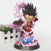 Anime ONE PIECE Monkey D. Luffy GK Gear Fourth Luffy Action Figure Snakeman Collectible Model Toy