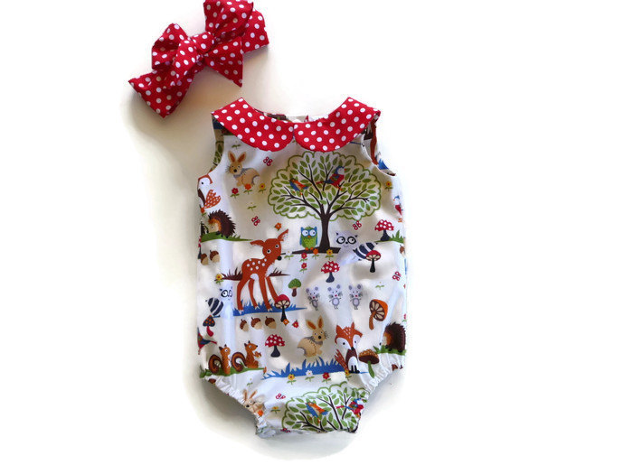 Two. Baby clothing climbing clothing 2017 summer newborn baby girl cotton clothing dressing dressing equipment