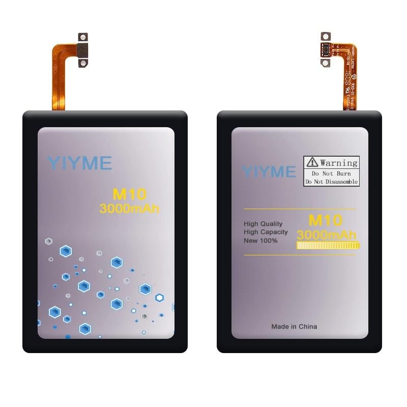 YIYME  B2PS6100 Phone Battery For HTC M10 M10U M10H battery 3000mAh