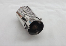 For Hyundai Tucson ix35 Automobile Stainless Steel Exhaust Pipe Tail Pipe Muffler Car Styling Accessories 1 pcs