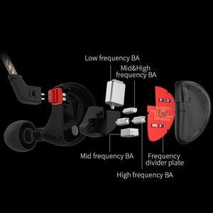 Image 2 - KZ AS10 5BA Balanced Armature Noise Cancelling Sport in ear Oortelefoon Headset voor Telefoons en Muziek Gaming Oordopjes
