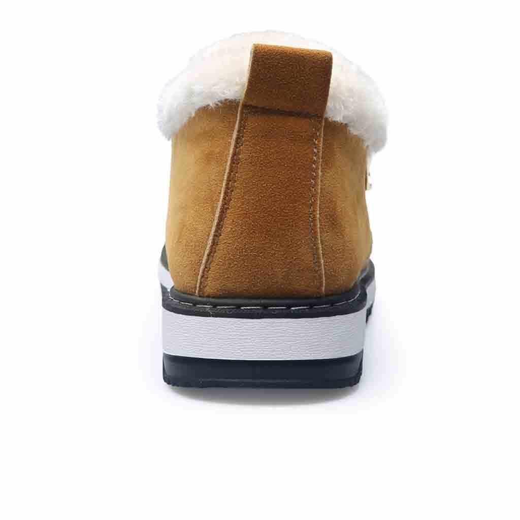 Модные мужские зимние ботинки зимние теплые плюшевые повседневные ботинки на плоской подошве # XTN