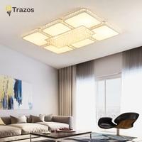 TRAZOS спальня гостиная потолочные светильники Современные Светодиодная лампа плафон avize современные светодиодный Потолочные светильники ла