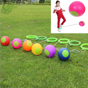 1PCS kip Ball Outdoor Fun Toy Ball Classical Skipping Toy Exercise coordination and balance hop jump playground may toy ball ZXH(China)