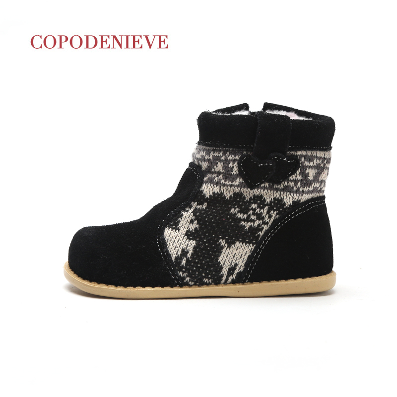 Image 2 - COPODENIEVE  winter warm baby shoes , fashion Waterproof children's shoes , girls boys boots perfect for kids accessories-in Boots from Mother & Kids