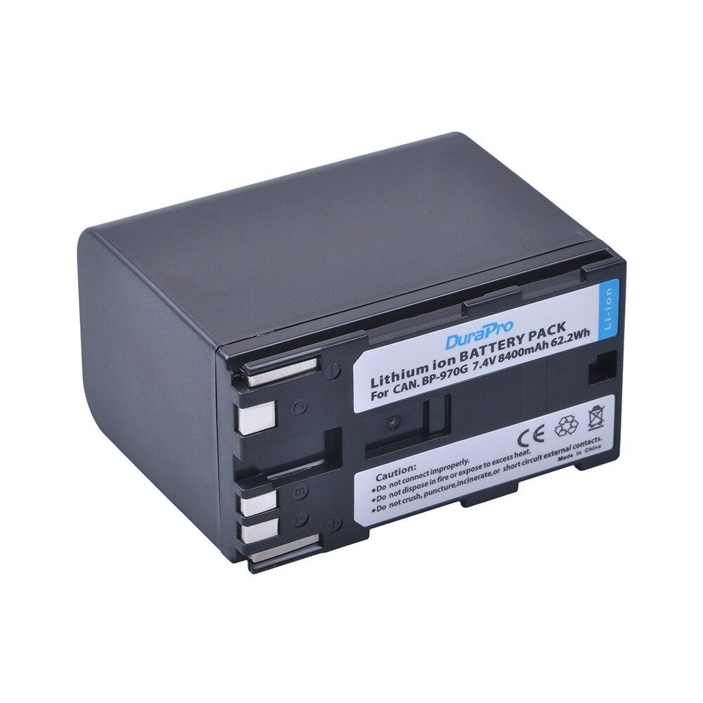 1Pc 8400mAh BP-970G BP 970G BP-975 BP-945 Battery for Canon EOS C100,EOS C100 Mark II, EOS C300, EOS C300 PL, GL2, XF100, XF105 canon bp 970g