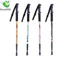 1 PC Ultralight Aluminum Alloy 3 Sections Telescopic Walking Stick adjustable Trekking Alpenstock Climbing Hiking Pole Canes