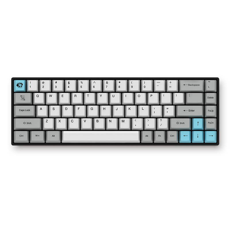 AKKO PBT Keycap Cherry Switch Mechanical Keyboard Silent Bluetooth Dual Mode Gaming Keyboard For PC Laptop Desktop