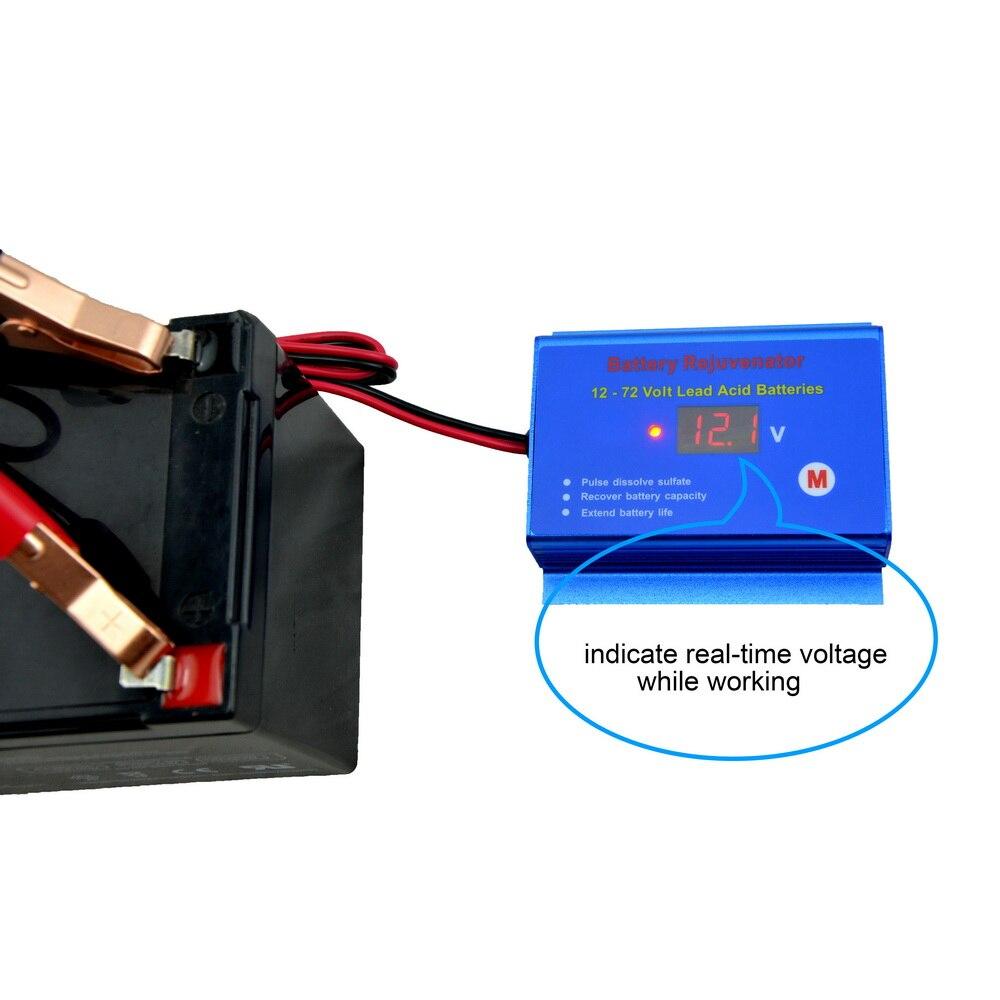 Image 2 - Golf cart buggy forklift battery desulfator desulphator  reconditioner for 12v 24v 36v 48v 60v 72v lead acid batteriesbattery  desulfator desulphatorbattery desulfatoracid battery