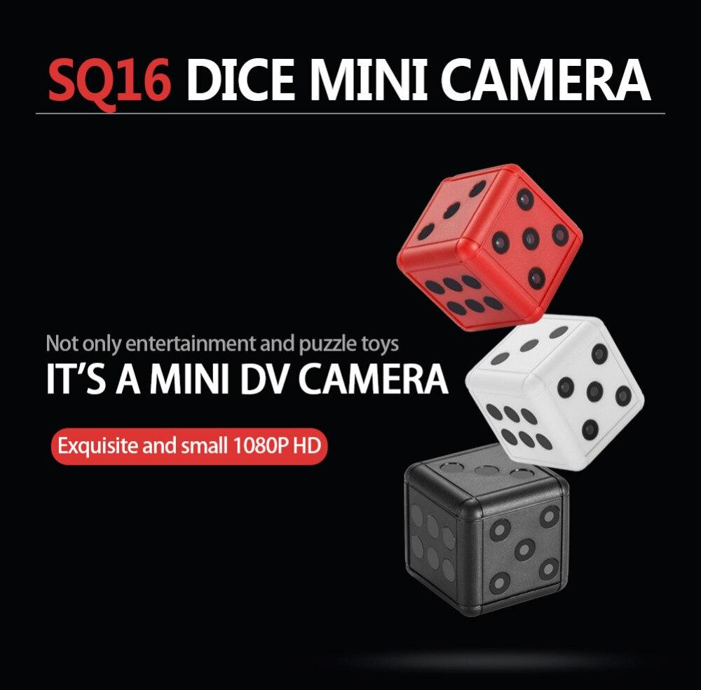 HD 1080P Mini Camera SQ16 Mini Camcorder Car DVR Motion DV Recorder Night Vision Video Sport DV Micro Camera Mini cpy Cam