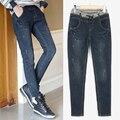 Jeans Woman plus Size Casual high Waist women jeans skinny Women Denim Pants Blue Harem pants Brand trousers for women 5XL 1020#