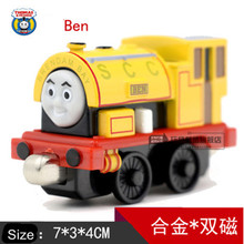 Diecast Metal Thomas and Friends Train One Piece BEN Megnetic Train Toy The Tank Engine Trackmaster Toy For Children Kids