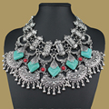 New Gypsy vintage resin Bohemian statement necklace & pendants fashion Collar choker classic for women jewelry 2015