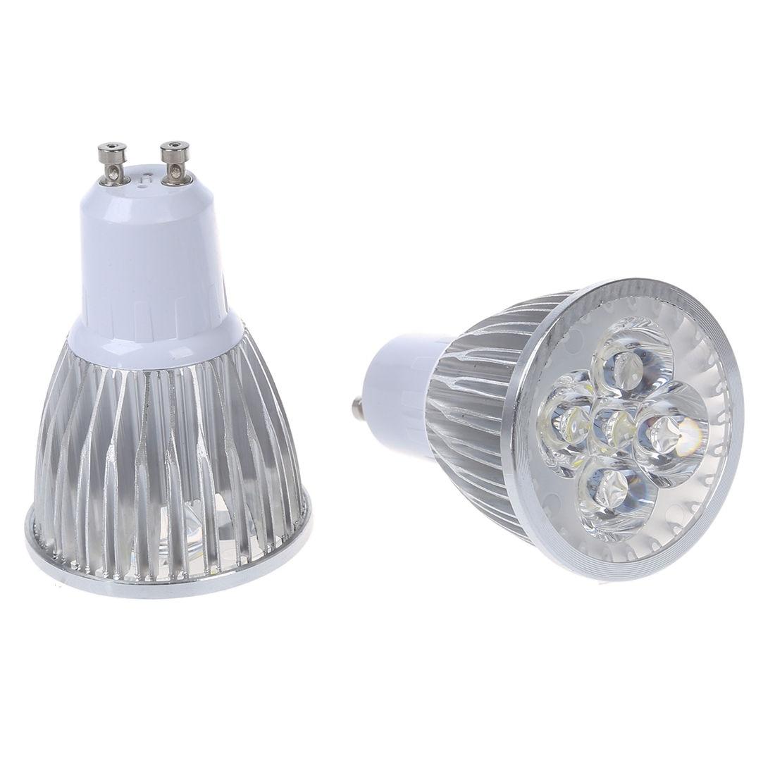 10 x 5W GU10 5 LED GU10 LED Bulb LED Light Bulb Cold White LED 450-Lumen AC95-240V