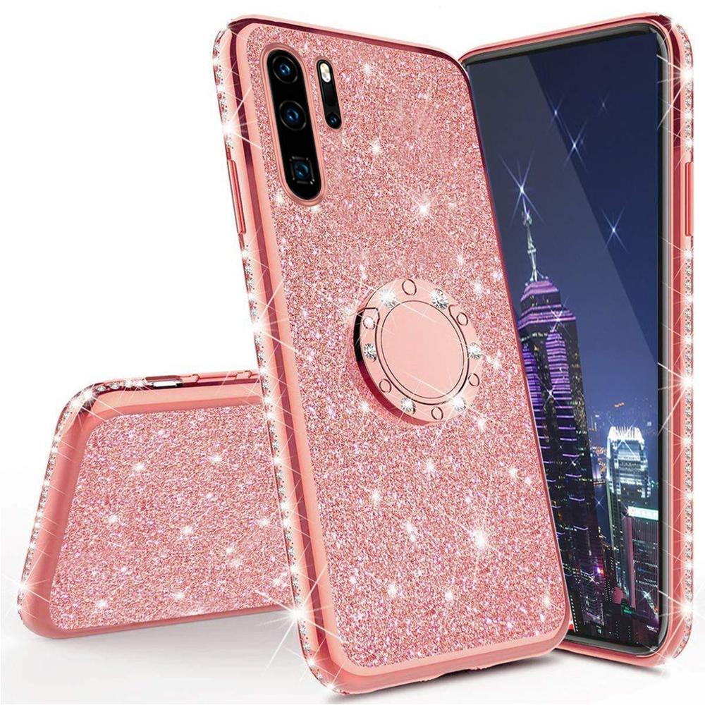 Diamond Case For Huawei P30 P20 P10 Pro Lite Cover For Huawei Mate 20 10 Pro Lite Mate 20 X Honor 10 Lite 8X 7X 9X Glitter Case