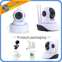 Mini 2 0MP 1080P HD Wireless WiFi P T Onvif IR IP Camera Alarm System IR
