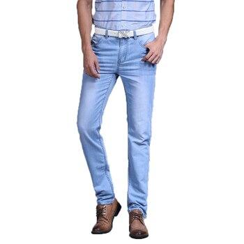 Sulee hommes marque célèbre 2018 Utr mince Jeans plafones Vaqueros créateur de mode printemps été Jeans hommes marque Jeans