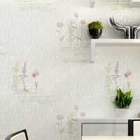 3D Vintage Home Decor Embossed Flocking Luxury Damask 3d Wallpaper European Contact Bedroom Wall Paper Living