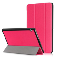 Ultra Slim Case For HUAWEI MediaPad T3 10 0 9 6 Trifold Solid PU Leather Smart
