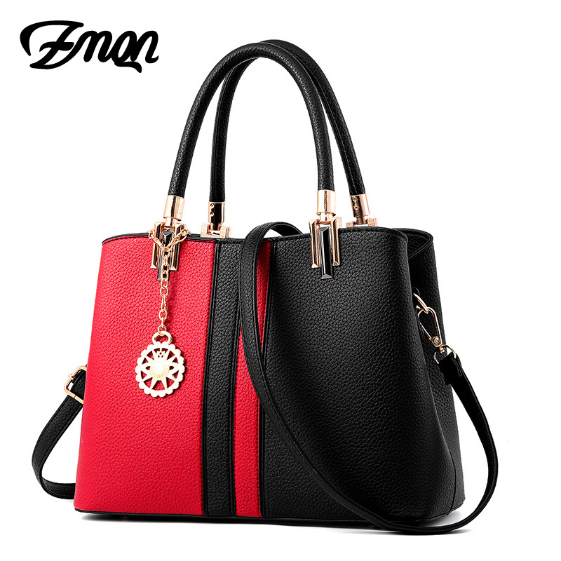 ZMQN Handbags for Women Leather Hobo Handbags 2017 Hard Hand Bag Cheap Wholesale Crossbody Shoulder Bags of Girls A834
