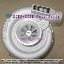 HX35 turbo 3539679 3591461 3593185 65091007197 65091007060 65091007040 турбокомпрессора для Daewoo DH220-5 220-5 DB58 DB58T DB58TI
